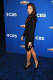 Amanda Righetti royaltyfri bild