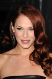 Amanda Righetti, le désaccord Photo libre de droits