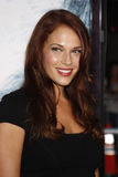 Amanda Righetti. At the Los Angeles Premiere of `Whiteout` held at the Mann Village Theater in LWestwood, California, United States on September 9, 2009 stock photo