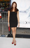 Amanda Righetti. At the Los Angeles Premiere of `Whiteout` held at the Mann Village Theater in LWestwood, California, United States on September 9, 2009 royalty free stock image