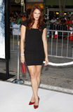Amanda Righetti. At the Los Angeles premiere of `Whiteout` held at the Mann Village Theatre in Westwood, USA on September 9, 2009 Stock Photos