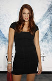 Amanda Righetti. At the Los Angeles premiere of `Whiteout` held at the Mann Village Theatre in Westwood, USA on September 9, 2009 Royalty Free Stock Image