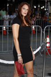 Amanda Righetti. At the Los Angeles premiere of `Whiteout` held at the Mann Village Theatre in Westwood, USA on September 9, 2009 Stock Photography