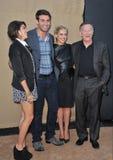 Amanda Setton & James Wolk & Sarah Michelle Gellar & Robin Williams royaltyfri foto
