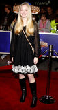 Amanda Seyfried. Attends the World Premiere of `Charlie Wilson`s War` held at the Universal Studios in Hollywood, California, United States on December 10, 2007 stock photo