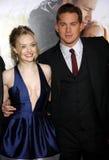 Amanda Seyfried et Channing Tatum Photographie stock