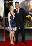Amanda Seyfried et Channing Tatum Images stock
