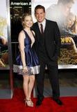 Amanda Seyfried et Channing Tatum Image libre de droits