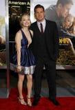 Amanda Seyfried et Channing Tatum Photo libre de droits