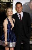 Amanda Seyfried et Channing Tatum Photo stock