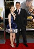 Amanda Seyfried i Channing Tatum Obrazy Stock