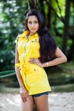 Amanda Silva. Is a actress in srilanka  - news paper photoshoot at colombo - December 09th, 2012 Stock Photography