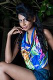 Amanda Silva. Is a actress in srilanka  - news paper photoshoot at colombo - December 10th, 2010 Stock Image