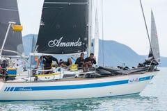 Amanda statku załoga na obowiązku Obrazy Royalty Free