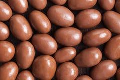 Amandelen in chocolade Royalty-vrije Stock Fotografie