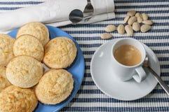 Amandelkoekjes zonder gluten Stock Afbeelding