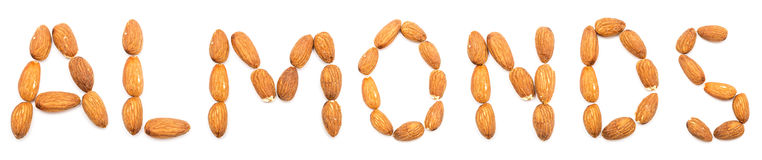 Amandes Image stock
