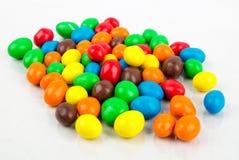 Amandes de chocolat de Pâques Image stock