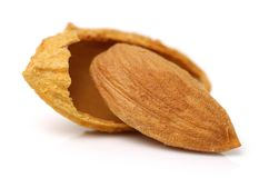 Amandes nuts images stock
