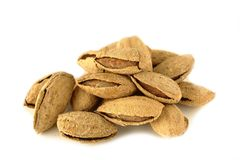 Amandes rôties Photo stock