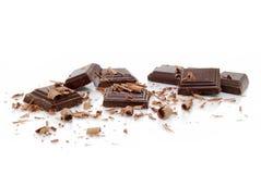 łamane czekolady Zdjęcia Stock