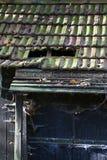 Łamane dachowe płytki Zdjęcia Royalty Free
