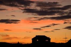 Amanecer ártico Foto de archivo