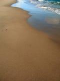 Amanecer 2 de la playa foto de archivo libre de regalías