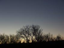 Amanecer-aufgehende Sonne Stockfotos