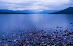 Amanecer de McDonald del lago fotografía de archivo libre de regalías