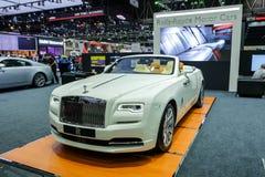 Amanecer de Rolls Royce fotos de archivo libres de regalías