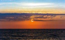 Amanecer del verano tardío fotos de archivo