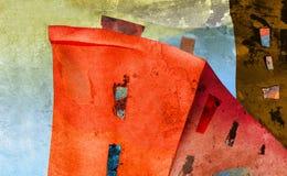 Amanecer en ciudad Imagenes de archivo