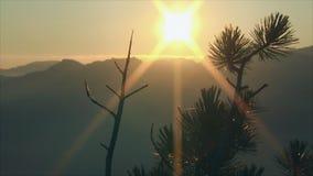 Amanecer en las montañas metrajes