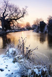 Amanecer en Suffolk Imagen de archivo libre de regalías