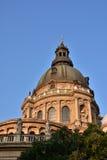 Amanecer en Szent Istvan Bazilika Fotos de archivo libres de regalías