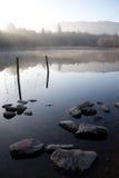 Amanecer sobre el lago 2 Imagen de archivo