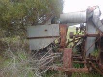 Łamanego puszka rolna maszyneria Obrazy Royalty Free
