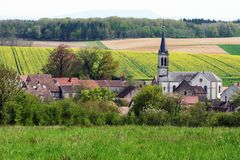 Amange Dorf Lizenzfreies Stockfoto