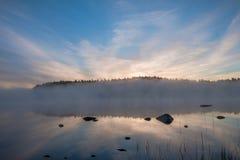 Amanhecer antes do nascer do sol Imagem de Stock