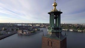 Amanhecer da Suécia de Éstocolmo vídeos de arquivo