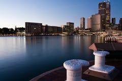 Amanhecer em Quay circular, Sydney, Austrália Fotografia de Stock Royalty Free