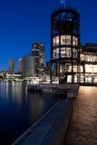 Amanhecer em Quay circular, Sydney, Austrália Fotos de Stock Royalty Free