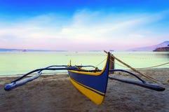 Amanhecer em Subic Bay. Foto de Stock Royalty Free