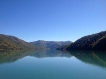 Amanhecer nas montanhas de Geórgia fotografia de stock royalty free