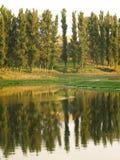 Amanhecer no rio de Vitba Foto de Stock