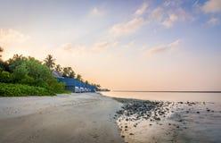 Amanhecer no Sandy Beach Foto de Stock