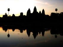 Templo de Ankor Wot fotos de stock royalty free