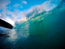Łamanie fala Hawaje Zdjęcie Stock
