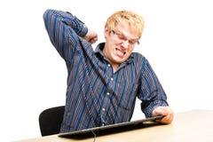 łamanie klawiatura Zdjęcie Stock